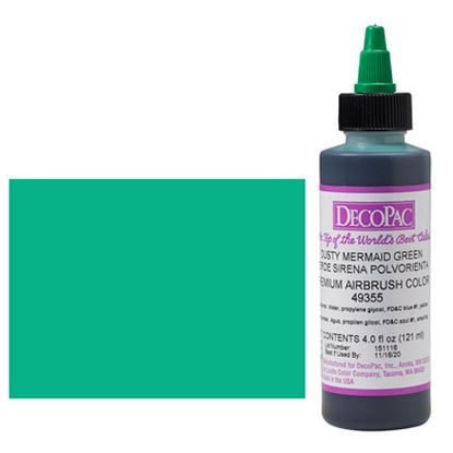 Dusty Mermaid Green Airbrush Color 4 oz