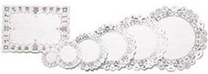 """8"""" Round White Doilies 16 count"""
