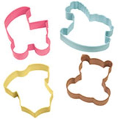 Baby Theme Cookie Cutter 4 piece Set