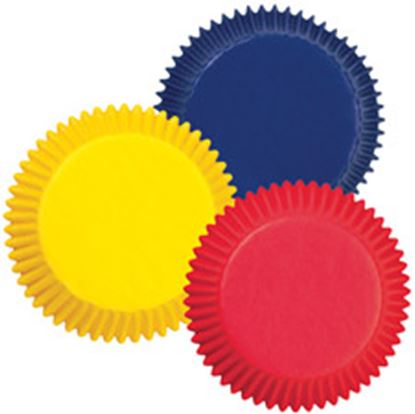 """Primary Mini Assorted Cups 1"""" Base 100 count"""