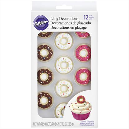 * Donut Royal Decorations 12 count