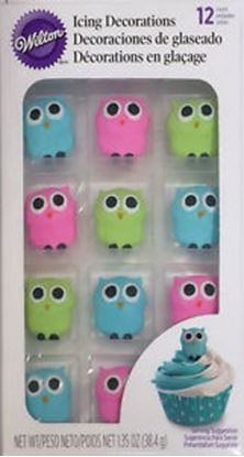 Owl Royal Icing 12 count