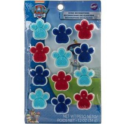Paw Patrol Icing Decos 12 count