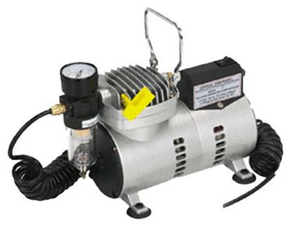 Airbrush Compressor with Hose & Gauge Each