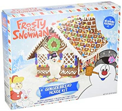 Frosty Gingerbread House