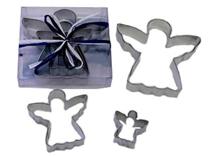Angel Cookie Cutter 3 piece Set