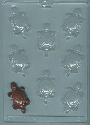Turtle Candy Mold 8 cavity cavity Each