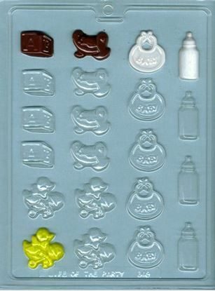 Baby Deco's Assorted Mold 20 cavity Each