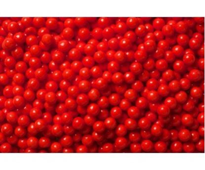 """Red Pearls 1/4"""" 8 oz"""
