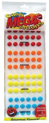 Candy Buttons Fruit Flavor 216 count