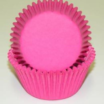 """Pink-Hot Mini Cup 1 1/4"""" Base x 3/4"""" Wall approx 500"""