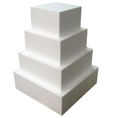 "10"" x 10"" x 3"" Square Styrofoam Dummy Each"