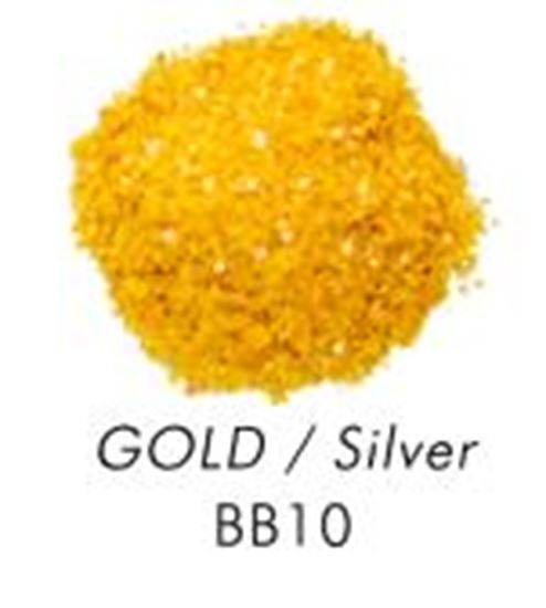 Bakery Bling Gold with Gold Glitter 3 oz