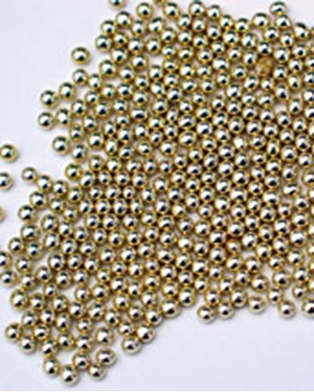 Gold Dragees #0 (3mm) 3 oz