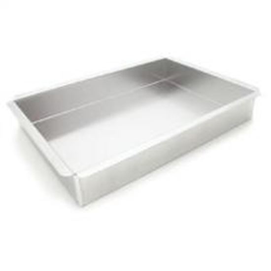 "12"" X 18"" X 3"" Rectangle Pan with Square Corners Each"