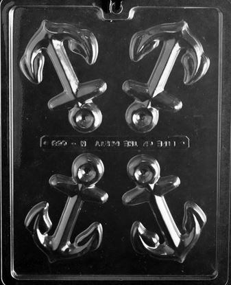 Anchors Candy Mold 4 cavity Each
