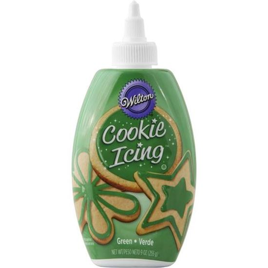 Cookie Icing in Bottle Green 9 oz