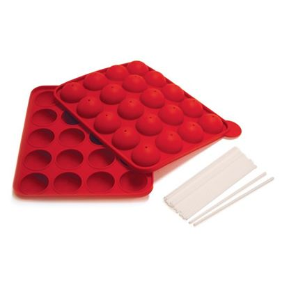 Cake Pop Silicone Pan with 20 Sticks