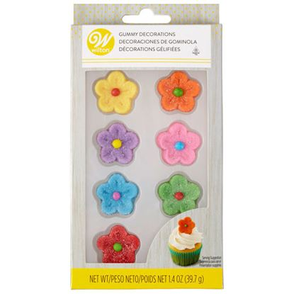 Gummy Flowers 8 count