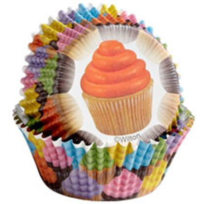 * Cupcakes Color Cups 36 count