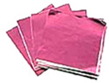 """Foil Wrappers Pink 3""""x 3"""" approx 500"""
