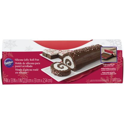 """* Jelly Roll Silicone Mat 9"""" x 13"""""""