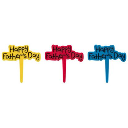 * Happy Father's Day DecoPics® 12 count