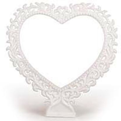 "* 4"" Lacy Hearts Each"