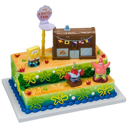 * Spongebob Krusty Krab DecoSet® Each