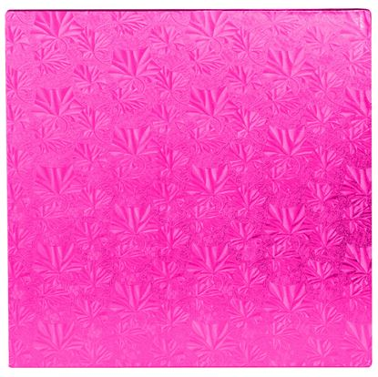 """12"""" Pink Square Drum Each"""