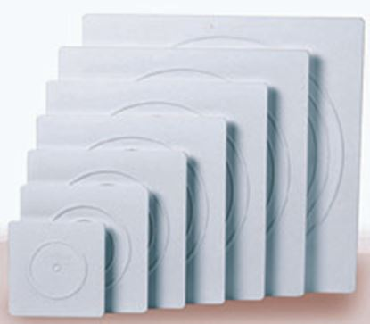 """* 16"""" Square Smooth Separator Plate Each"""