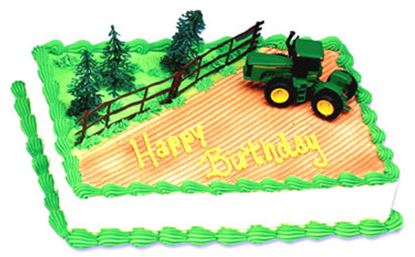 * John Deer Tractor Cake Kit Each
