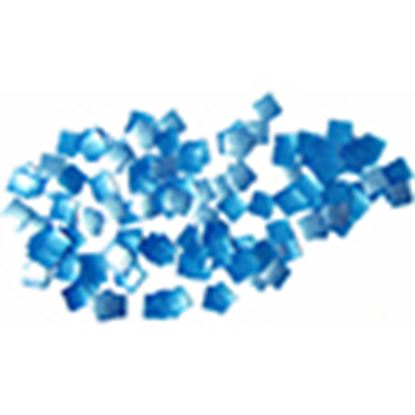 Blue Squares Edible Glitter 1/4 oz
