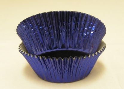 "Blue Foil Cup 2"" Base x 1 1/8"" Wall approx 500"