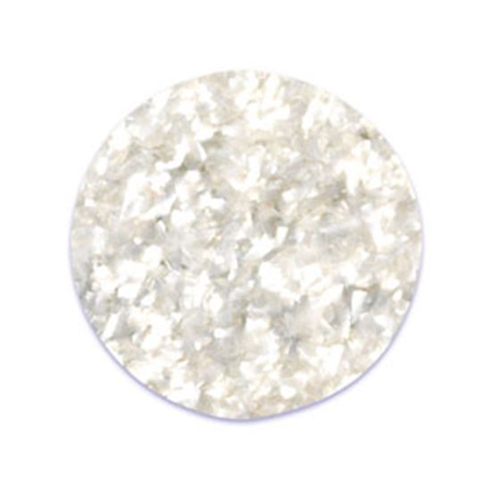 Bright White Edible Glitter 4 oz