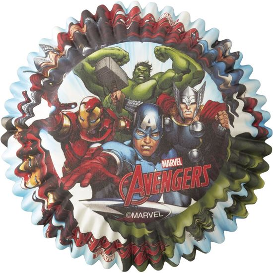 "Avengers Baking Cup 2"" 50 count"