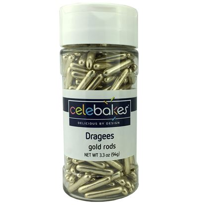 Gold Dragees Rods 3.3 oz
