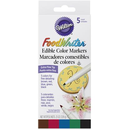 FoodWriter Extra Fine Tip 5 color
