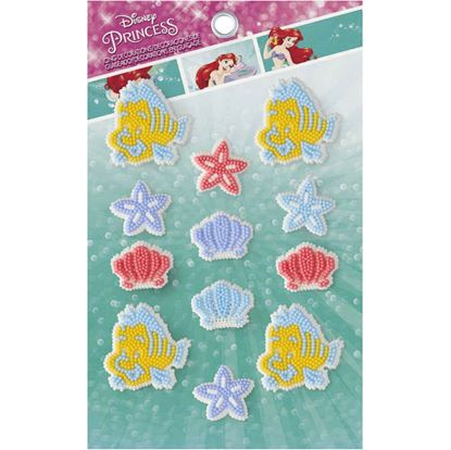 Ariel Icing Decorations 9 count