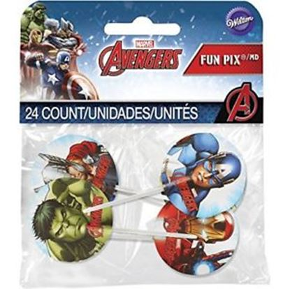 "Avengers Fun Pix® 3"" 24 count"