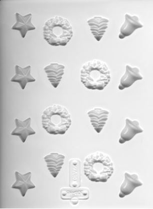 Holiday Candies Hard Candy Mold Each