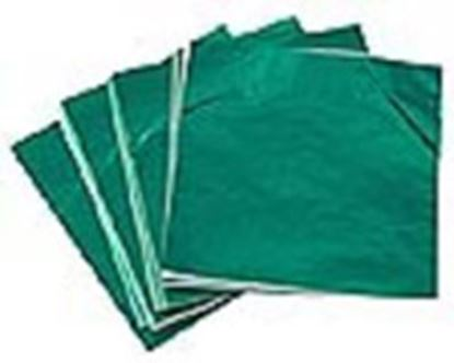 "Foil Wrappers Green 3""x 3"" approx 500"