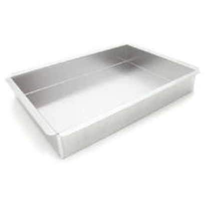 """9"""" X 13"""" X 3"""" Rectangle Pan with Square Corners Each"""