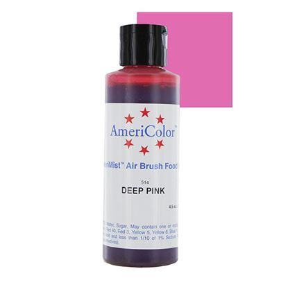 Deep Pink 4.5 oz Amerimist Airbrush Color Each