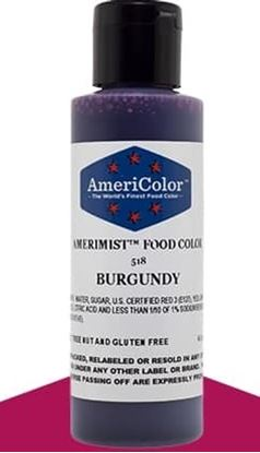 Burgundy 4.5 oz Amerimist Airbrush Color Each