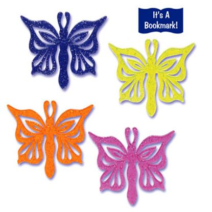 * Butterfly Bookmark Picks 12 count