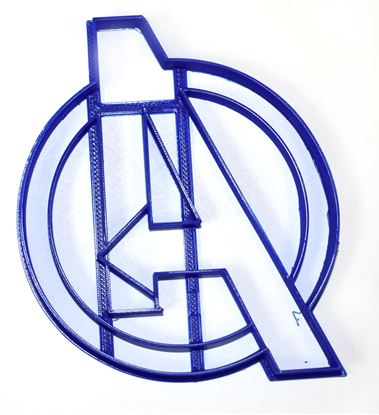 Avengers Logo Marvel Superhero Cookie Cutter Each