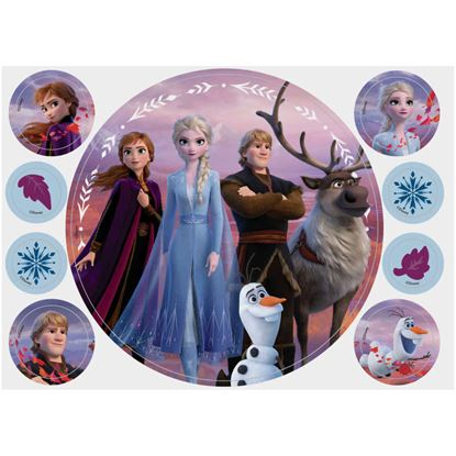 "Frozen II Sugar Sheet 8"" x 11"" Each"