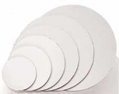 "6"" Round Coated Cardboard Each"