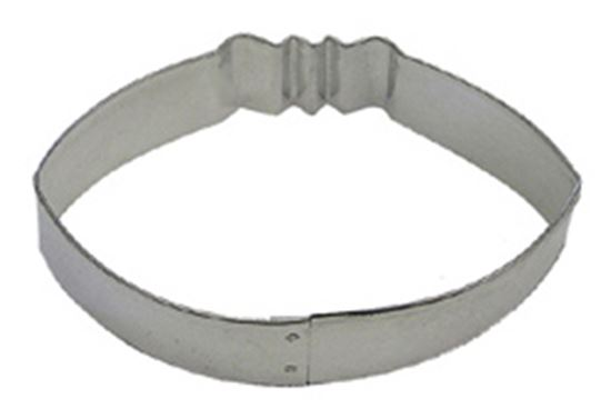 "Football Cookie Cutter 3 1/2"" Each"